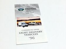 1996 Daewoo Polska Lublin Light Delivery Vehicles Brochure
