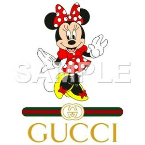 Disney Minnie iron on or sublimation transfer (choice of 1)