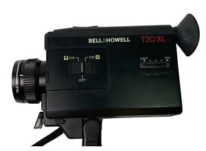 Vintage Bell And Howell T20 XL Super 8 Video Camera