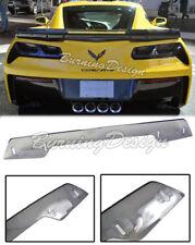For 14-Up Corvette C7 Z06 Z07 Rear Spoiler Wickerbill light Tint Stage 3 Upgrade
