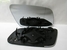 A69 AUDI A4 B5 FACELIFT RIGHT DRIVER O/S HEATED WING DOOR MIRROR GLASS 1999-2001