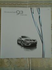 Saab 93 Convertible brochure 2008 Dutch text