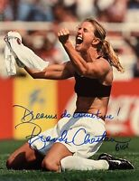 Brandi Chastain Autographed Signed 8x10 Photo REPRINT