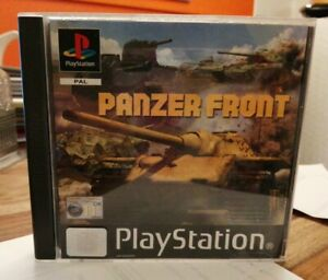 SONY PS1 GAME PANZER FRONT MANUAL NICE CONDITION PLAYSTATION 1 PSONE & PS2 PAL
