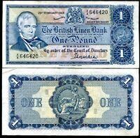 SCOTLAND 1 POUND 1969 P 169 XF SEE SCAN