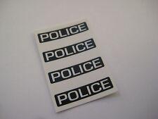 Corgi Juniors J.60 Buick Police Car Stickers - B2G1F