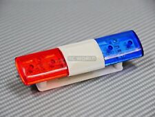 1/10 RC Car POLICE  LIGHTS Top Light Bar POLICE FLASHING LEDS - RED/BLUE -