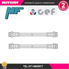 GT 1993-2000 HEL Stahlflex Bremsleitung Fiat Punto mit ABS inkl mit ABE