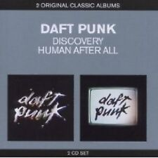 DAFT PUNK - DISCOVERY - HUMAN AFTER ALL -2CD