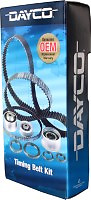 DAYCO Timing Belt Kit FOR Daihatsu Cuore 7/00-9/2003 1.0L MPFI L700S 41kW EJ-DE