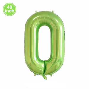 """40"""" Giant Foil Number Balloons Wedding Letter Air Helium Birthday Party Decor"""