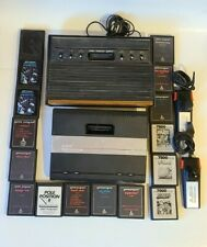 Atari 2600 and 7800 Bundle with 2 controllers and 16 games