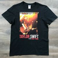 Taylor Swift - The Red Tour Adult Size Small Black Short-Sleeve T-Shirt Concert