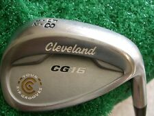 Cleveland CG16 satin chrome tour zip groove 58* Lob wedge/DG S300 Stiff steel RH