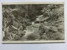 Doone Valley Vintage B&W Postcard 1911 The Water Slide