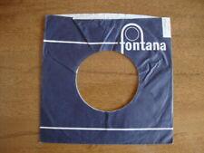 FONTANA ORIGINAL USED COMPANY RECORD SLEEVE 45RPM 7 INCH  VG