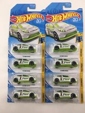 HW Hot Wheels 2012 12 Ford FIESTA CHECKMATE PAWN 9/9 WHITE 263, Set of 8 Chess