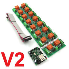 Daenetip2v2 Ethernet Internet 16 Channel Relay Boardip Snmp Ios Android Win