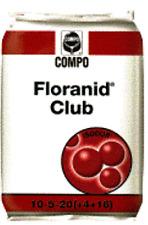 COMPO FLORANID CLUB CONCIME TAPPETI ERBOSI KG 25