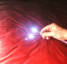24 feet of 1.5mm FIBER OPTIC fiber model RailRoad lighting + FREE illuminator b5