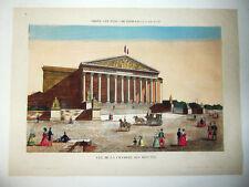 Vue d'Optique.Paris.Vue de la Chambre des Députés.XVIIIe.