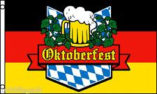 Oktoberfest Monaco di Baviera Festa Della Birra Germania Bandiera 5'x3' *** per cancellare ***
