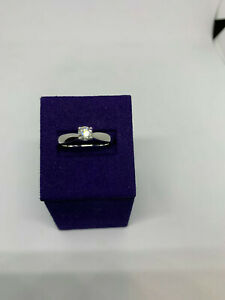 Hearts On Fire Serenity Select Solitaire engagement ring, SRP $ 1,990, .342 ct