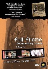 Full Frame Documentary Shorts Collection: Volume 3 (DVD, 2005)
