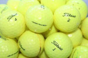 20 Titleist NXT Tour S Yellow Mint/Near Mint Condition GolfBalls