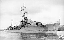 ROYAL NAVY WWII  S CLASS DESTROYER HMS SAUMAREZ - RUSSIAN CONVOY ESCORT