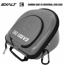 Exalt Paintball Universal Goggle Mask Lens Microfiber Travel Case V3 Grey / Blue
