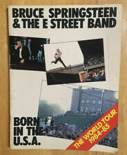 "1984-1985 Bruce Springsteen Tour Program ""Born In The Usa� w/E Street Band (A14)"