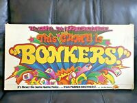 This Game is Bonkers Board Game by Parker Brothers 1978 Complete Vintage