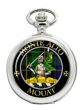 Mouat Scottish Clan Pocket Watch