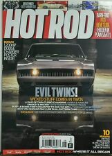 Hot Rod Aug 2016 Evil Twins Wicked Stuff Comes in Two's Turbo FREE SHIPPING sb