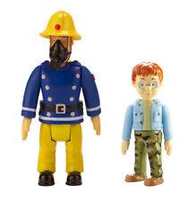 Sam Le Pompier Pack De 2 Figurines - sam avec masque et Norman TOUT NEUF