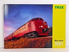 Trix HO & N Gauge New Items Catalog for 2007, New Catalog