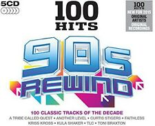 Various Artists - 100 Hits-90s Rewind / Various [New CD] UK - Import