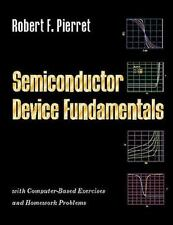 Semiconductor Device Fundamentals by Robert F. Pierret (1995, Hardcover) 71918