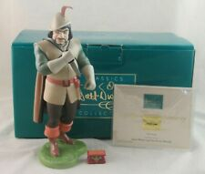 """WDCC """"Deadly Intent"""" Huntsman from Disney's Snow White in Box with COA Signed"""