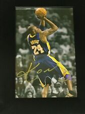 Kobe Bryant Hand Signed Autograph from Los Angeles 2018
