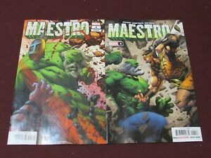Maestro #4 Lot of 2 (Standard & Ottley Variant)