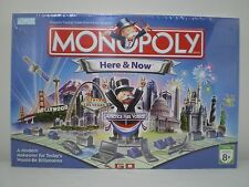 NEW and SEALED MONOPOLY HERE AND NOW EDITION BOARD GAME 2006 PARKER BROTHERS