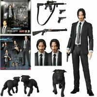 New Mafex 085 John Wick Chapter 2 PVC Action Figure In Box Collection Xmas Gift