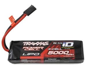 Traxxas 2872X 5000Mah 3S 11.1V 25C Lipo Battery Id Plug