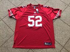 Authentic NFL Reebok San Francisco 49ers Patrick Willis Jersey 56 NWT