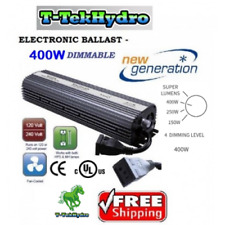 T-Tekhydro ELECTRONIC DIMMABLE 400W BALLAST120-240V - FAN COOLED
