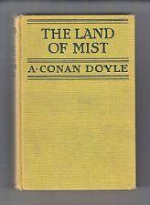 THE LAND OF THE MIST (Sir Arthur Conan Doyle/1st US/#3 Professor Challenger)
