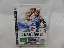 NBA Live 10 PS3 Game USED