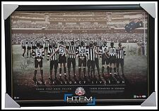 Collingwood Signed ANZAC Their Legacy Lives On Print Framed Pendlebury Buckley